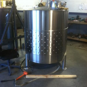 jacketed 10bbl brite